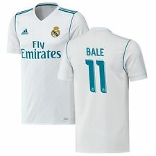 adidas Real Madrid 2017 - 2018 Gareth Bale # 11 Home Soccer Jersey Brand New