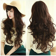 Fashion Women's Ladies Long Curly Wavy Hair Full Wig Wigs Cosplay Party New