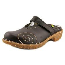 El Naturalista NG96 Women  Round Toe Leather Brown Mules