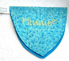 Dog (Cat) PEACOCK FEATHERS  Bandana w/Collar, Personalized Pet's Name/ID XS -XXL