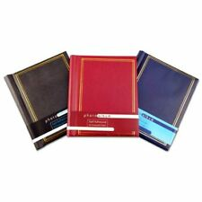 Self Adhesive Large Photo Albums Totaling 20 Pages 40 Sides Black Red or Blue