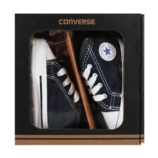 Converse Baby Boy's Chuck First Star Hi Gift Box Crawling Shoes 0-12 Mon
