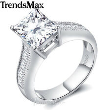 10mm Womens Girls 925 Sterling Silver Wedding Engagement US Sz 6-9 Band Ring