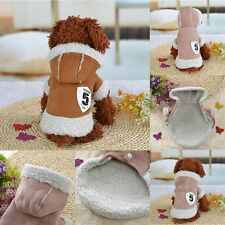 Small Pet Dog Puppy Sweater Clothes Jumpsuit Wool Coat Winter Apparel Costumes