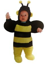 Totally Ghoul Infant Boys Girls Plush Yellow Black Bumblebee Costume Bee