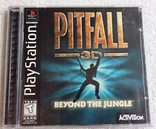 Pitfall 3D: Beyond the Jungle (Sony PlayStation 1, 1998) PS1 Complete game VG