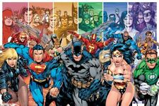 New DC Comics Justice League of America DC Universe Poster