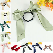Ribbon Rope Bowknot Hair Ties rubber band Bow Elastic Girl's Hair Accessories