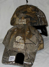 CLEVELAND BROWNS NFL REALTREE XTRA CAMO '47 BRAND FITTED FRANCHISE HAT/CAP NWT