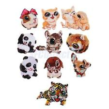 Cats Dogs Animals Embroidery Patches Applique Badges Iron on for DIY Craft Decor