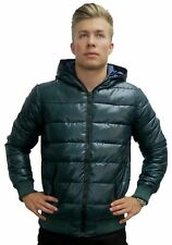 Solid Gentlemen jacket DUKY Winter jacket Transition Jacket Quilted Jacket Green