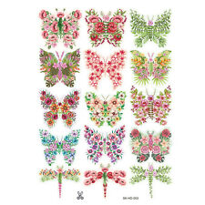 15 pcs 3D Butterfly Wall Stickers Art Decal Home Room Decorations Decor Kids