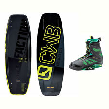 CWB Faction Wakeboard With MD Bindings 2017