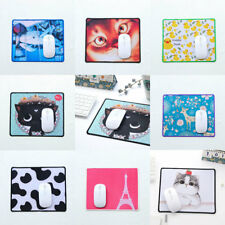 Cut Cartoon Animal Cat Deer Mouse Pad Anti-Slip Mat For Laptop PC