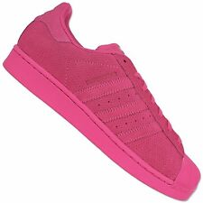 Adidas Originals Mens Superstar II AQ4166 Trainers Shoes Wild Leather Clean Pink