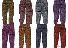 INDIAN ALI BABA HAREM YOGA WOMEN HAREM TROUSER BAGGY GYPSY BOHO HIPPIE PANTS