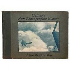 Colliers New Photographic History of the Worlds War - 1918