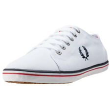 Fred Perry Kingston Womens Trainers White New Shoes