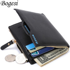 Faux Leather Men's Wallet ID Credit Card holder Clutch Bifold Coin Purse Pockets