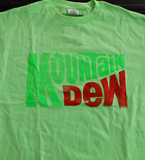 New Mountain Dew logo - Licensed Cool Green T-Shirt
