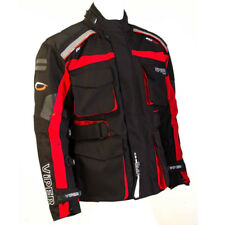 Viper Wayfarer Black Red Waterproof Touring Textile Jacket