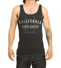 LUCKY 13 THE CALIFORNIA RACER  TANK TOP  ROCKABILLY PUNK BIKER MEN'S TOUGH WEAR