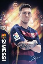 Barcelona Football Club Lionel Messi BFC Poster 61x91.5cm