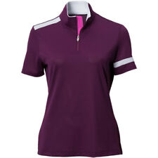 Nivo Sports Womens Jackie Mock Neck Polo