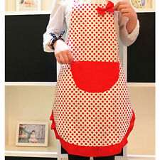 Cute Girls Women Bowknot Aprons Lady's Kitchen Restaurant Cooking cartoon Apron