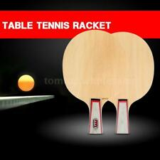 Indoor Outdoor Sports Table Tennis Racket Ping Pong Paddle Bat Racket R4H3