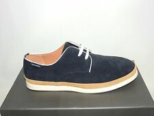 PETER WERTH 'CAINE' NAVY/TAN SUEDE LACE UP SHOES. BNIB