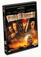 DISNEY PIRATES OF THE CARIBBEAN THE CURSE OF THE BLACK PEARL (2003, 2-Disc Set)