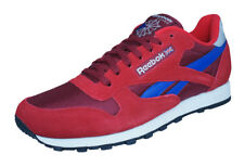 Reebok Classic Sport Clean Mens Trainers / Retro Shoes - Red