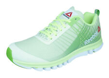 Reebok Sublite Duo Speed Womens Running Sneakers / Sports Trainers - Green