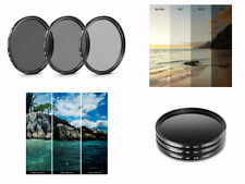 NF71 72mm Neutral Density Filter Set ND2 ND4 ND8 For DSLR Camera Camcorder Lens