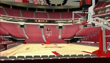 2 TICKETS GOLDEN STATE WARRIORS @ HOUSTON ROCKETS 1/4 *Sec 114 Row G AISLE*