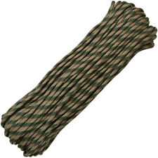 Parachute Cord Recon RG1051H Tan/Brown/Teal Green/OD Green Nylon 100'