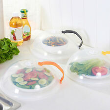 New Microwave Food Dish Cover Clear Steam Vent Splatter Lid Kitchen Tool Fashion