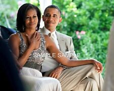 PRESIDENT BARACK OBAMA and FIRST LADY MICHELLE OBAMA AT A WEDDING