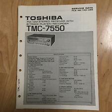 Original Toshiba Service Manual for Various Models ~ Select One