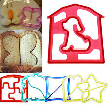 DIY Lunch Kids' Sandwich Toast Cookies Cake Bread Biscuit Food Cutter Mould 1PC