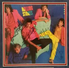 ROLLING STONES MICK JAGGER KEITH RICHARDS X5 COMPLETE GROUP SIGNED ALBUM PSA/DNA