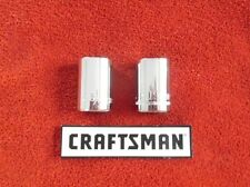 "Craftsman - 1/2"" Drive Sockets - 6 Point - Metric and SAE - Choose Size"