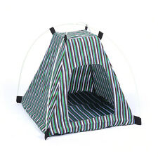 Portable Folding Dog Cat House Tent Indoor Cage Pet Supply Travel Kennel Bed Mat