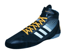 adidas Response 3.1 Mens Wrestling Shoes / Trainer Boots - Black