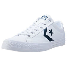 Converse Star Player Ox Mens Trainers White Navy New Shoes