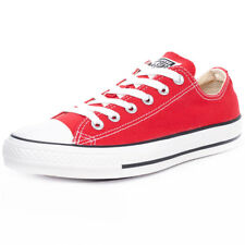 Converse Chuck Taylor All Star Lo Mens Trainers Red New Shoes