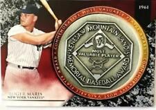 2017 Topps Update MVP Award Commemorative Medallions Black /50 Pick From List