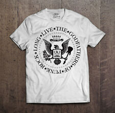 LUCKY BASTARDS THE GOD FATHERS OF PUNK T SHIRT ROCK LONG LIVE EVERYTHING MEN'S