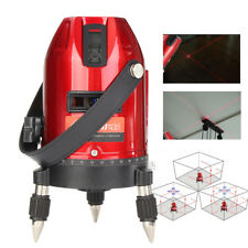 360° Rotary Laser Level Self-Leveling 5 Line 3D Cross Measure Meter Tool /Tripod